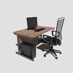 3D workstation desktop office