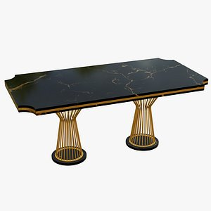 3D model Luxury Dining Table