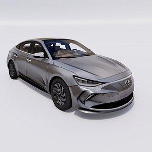 Hyundai Lafesta EV 3D model