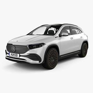 3D Mercedes-Benz EQA AMG-Line Edition 1 2021