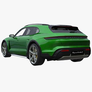 porsche taycan cross turismo 3D model