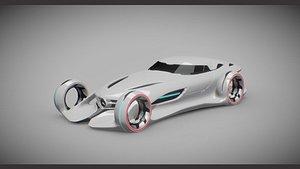 mercedes-benz-silver-lightning 3D model