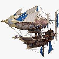 Fantasy Airship Royal