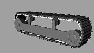 track kit 3D model