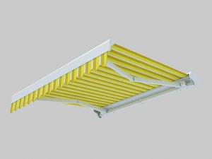 3D elbow awning