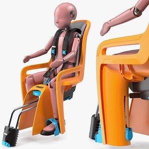 child crash test dummy 3D model