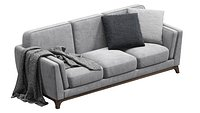 Ceni Volcanic Gray Sofa By Article