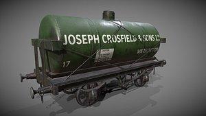 3D Rail Tanker
