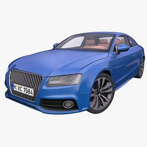 3D generic german coupe model