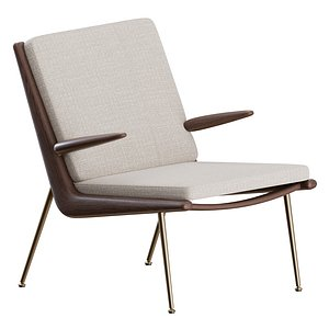 3D Boomerang Armchair by Tradition
