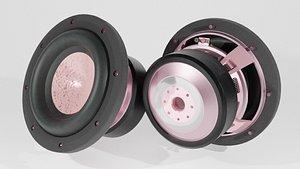 3D loudspeaker blender speakers