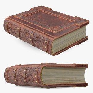 3D Ornate Book Closed Brown model