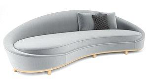 3D Mnoxet Design Curve Sofa