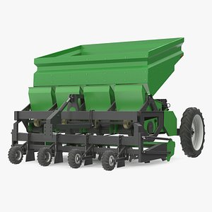 Potato Planter Green Used model