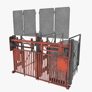coal elevator realtime model