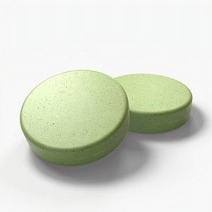 pbr soap aromatic 3D model
