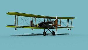 Airco DH-4 V01 RAF 3D