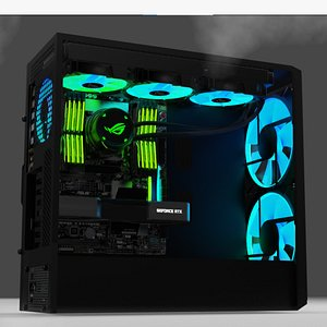 3D PC - Computer model
