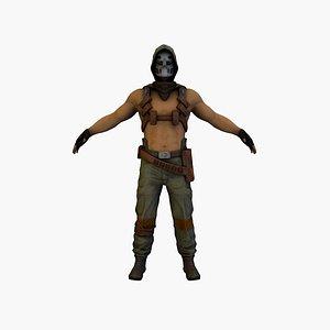 cyber soldierv2 3D model