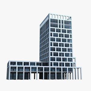 Modern Building 125 3D