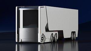 3D truck audi