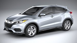 3D model Honda HR-V LX 2020