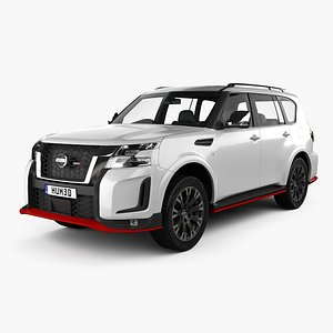 Nissan Patrol Nismo 2021 3D model