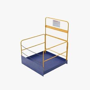 3D Forklift Platform