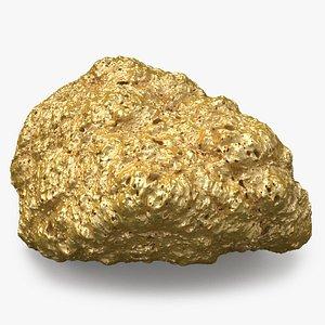Gold Mineral 01 model