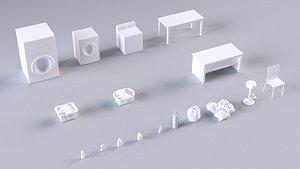 laundry store 3D model