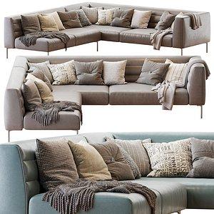 Sofa Botero Zanotta 3D model