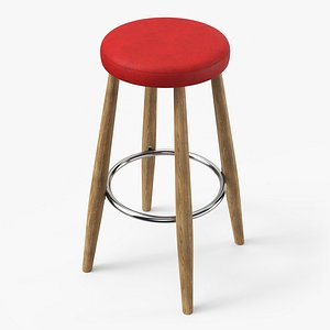 ch56 bar stool 3D