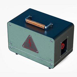 Radiostation power supply unit 3D