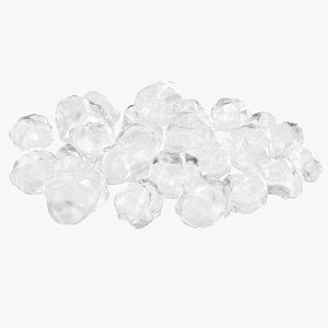 3D model Ice Cubes 1