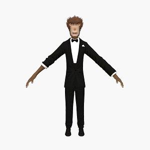 monkey agent 007 model