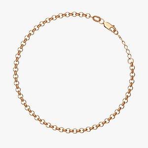 3D chain bracelet