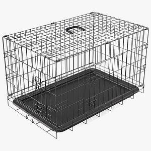 Pet Kennel Cage 3D
