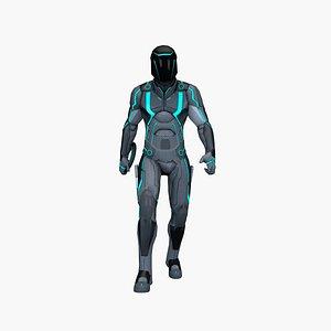 Cyber hero 3D
