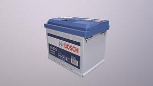 Battery bosch s4 3D
