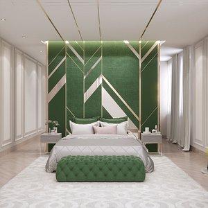 bedroom design model