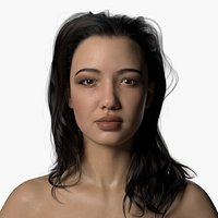 Natalia Full Body Scan