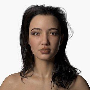 Natalia Full Body Scan model