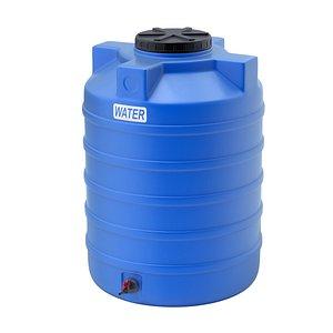 plastic storage tank 3D