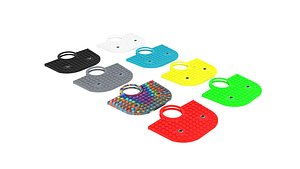 3D Pop It Handbags Set model