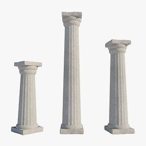 doric column 3D model