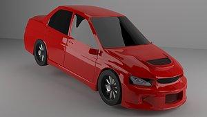 3D araba model