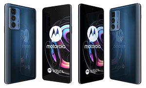 3D model Motorola Edge 20 Pro Midnight Blue