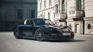Porsche Targa Unreal Engine RTX ON 3D