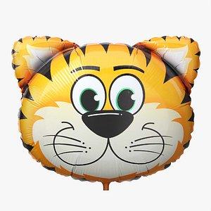 3D Decoration foil balloon 06 Tiger model