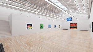 Art Museum Gallery Interior 7 model